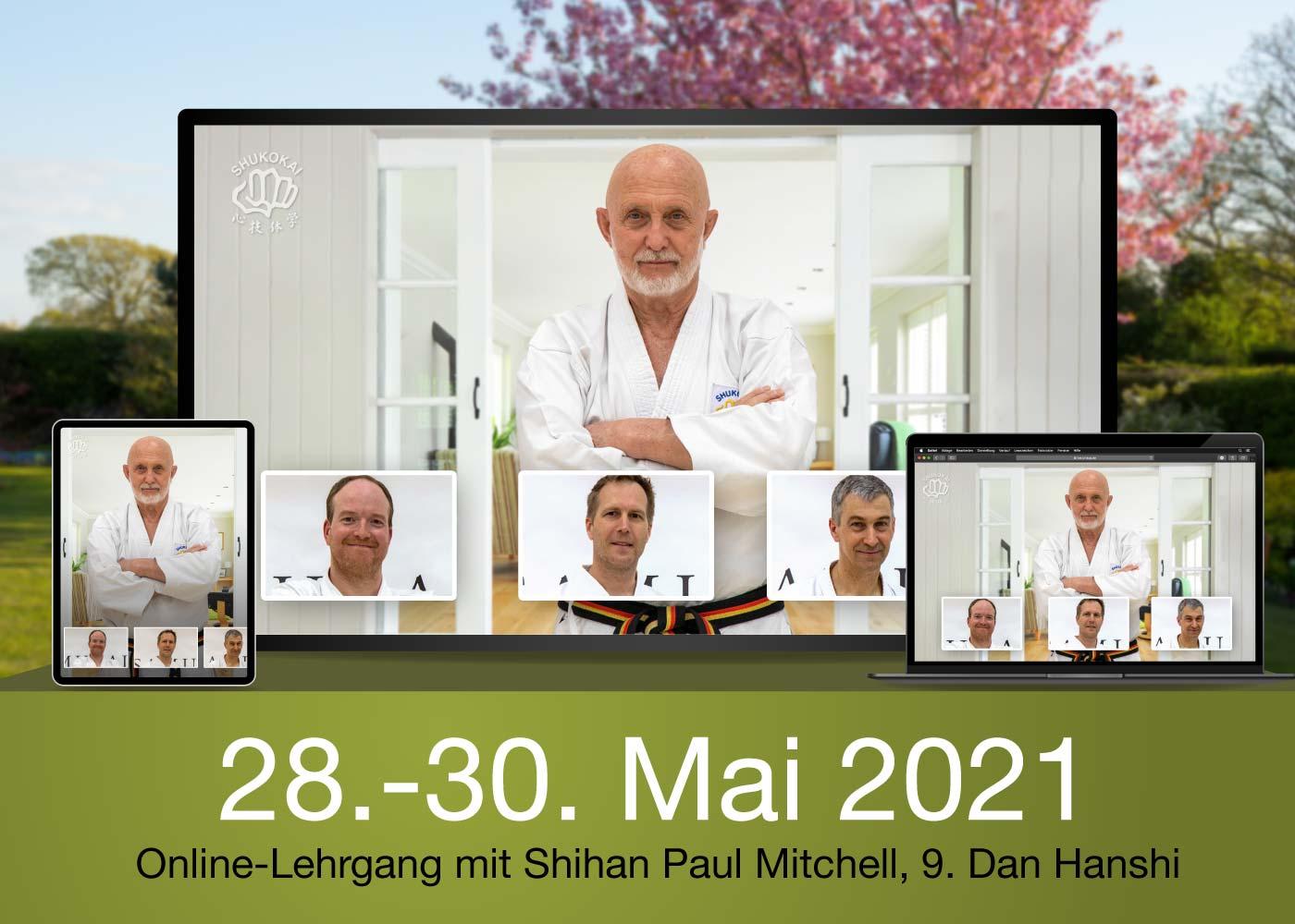 Online-Karate-Course Spring 2021